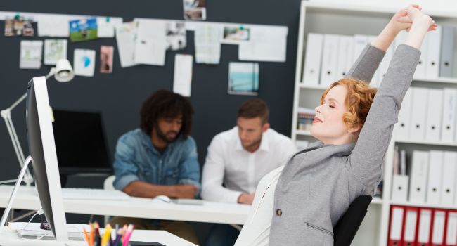 Relaxing Increases Your Dental Office Productivity